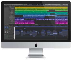 Apple Display with Logic Pro